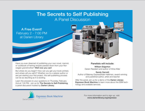 Espresso Book Machine Event