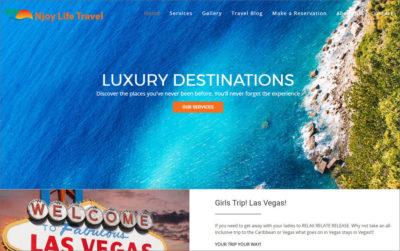 Njoy Travel Website